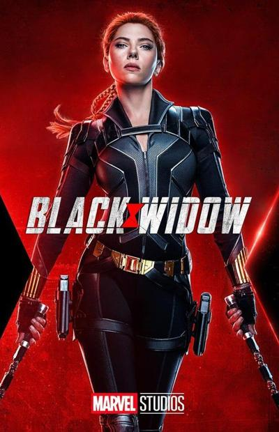 Promotional poster for the movie Black Widow
