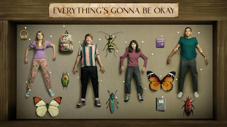 Promo poster for Hulu's Everything's Going to Be Okay tv Show.