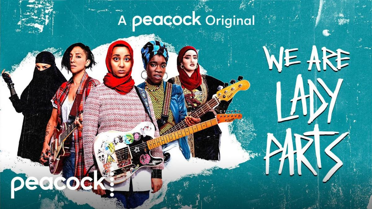 Promotional Poster for Peacock We Are Lady Parts