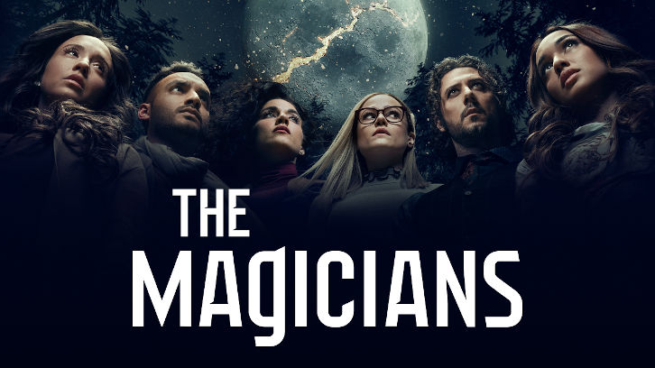 """promotional poster for Netflix's """"The Magicians."""""""