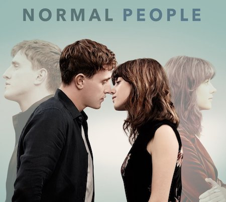 Promotional poster for TV show Normal People