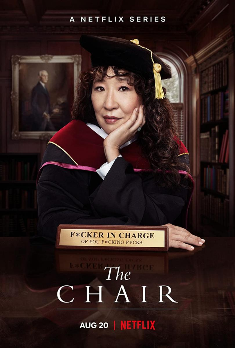 Promotional Poster for The Chair on Netflix with Sandra Oh