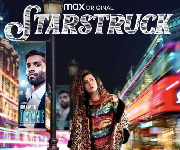 Promotional poster for HBO Max's Starstruck