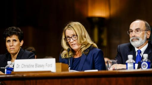 Christine Blasey Ford photo from Getty