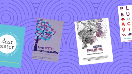 a list of books that support us in healing from sexual violence
