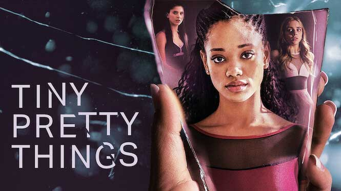 """Promotional  poster for Netflix's """"Tiny Pretty Things."""""""
